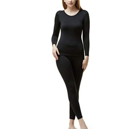 TSLA Women's Fleece Lined Thermal Underwear Set Now .58 (Was .98)