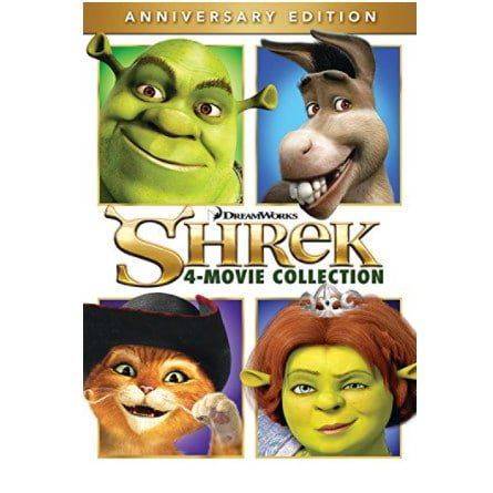 Shrek 4-Movie Collection Now .99 (Was .98)
