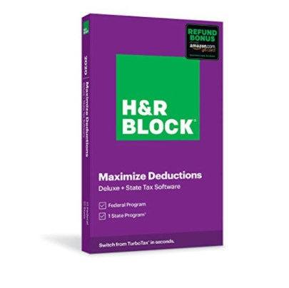 50% Off H&R Block Tax Software