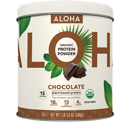 Organic Chocolate Keto Friendly Vegan Protein with MCT Oil Now .91 (Was .99)