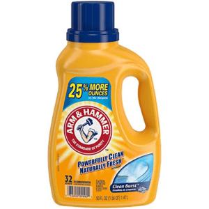 Arm & Hammer Liquid Laundry Detergent Now .87 (Was .99)