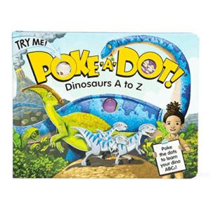 Melissa & Doug Poke-a-Dot Dinosaurs A to Z Now .18 (Was .99)