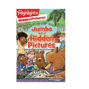 Jumbo Book of Hidden Pictures Now .95 (Was .99)