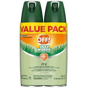 OFF! Deep Woods Insect & Mosquito Repellent Now .99 (Was .89)