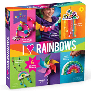Craft-tastic I Love Rainbows Now .32 (Was .99)