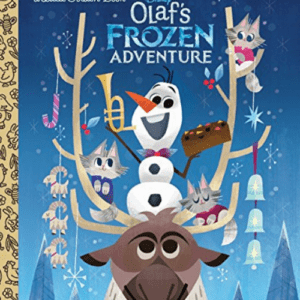 Olaf's Frozen Adventure Little Golden Book Now .49 (Was .99)
