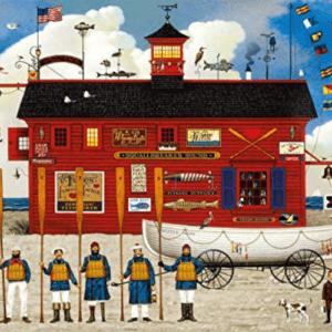 Charles Wysocki The Sea Buglers 1000 Piece Jigsaw Puzzle Now .18 (Was .99)