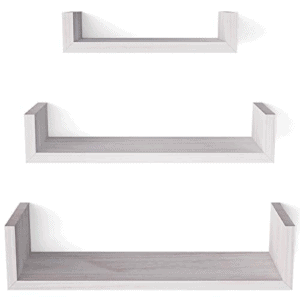 SRIWATANA Floating Shelves Wall Mounted Now .14 (Was .99)