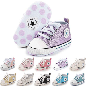 Meckior Infant Baby Canvas Sneaker Now .99 (Was .99)