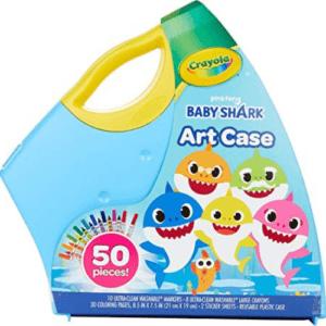 Crayola Baby Shark Art Set Now .99 (Was .66)