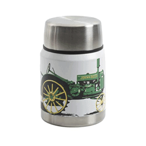 Gibson John Deere Thermal Double Wall Stainless Steel, 12.5oz Tractor Soup Jug, Grey Now .25 (Was .99)