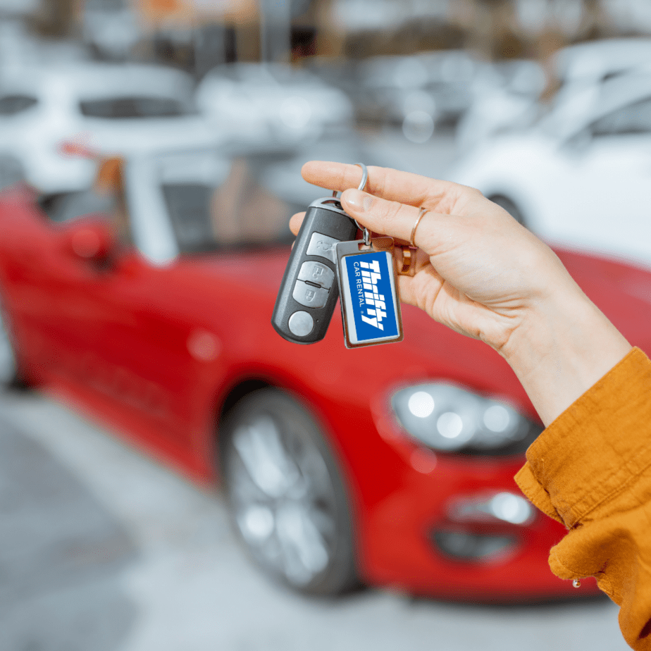 One Way Car Rentals .99 with Thrifty