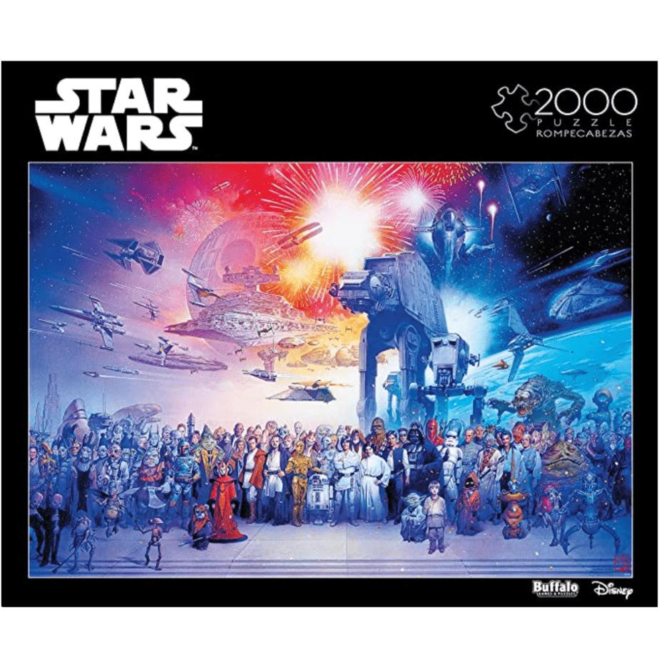 Star Wars 2000 Piece Jigsaw Puzzle Now .97