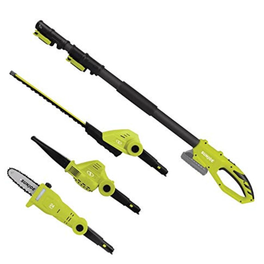 Sun Joe Garden Tool System (Hedge Trimmer, Pole Saw, Leaf Blower) Now 9.84