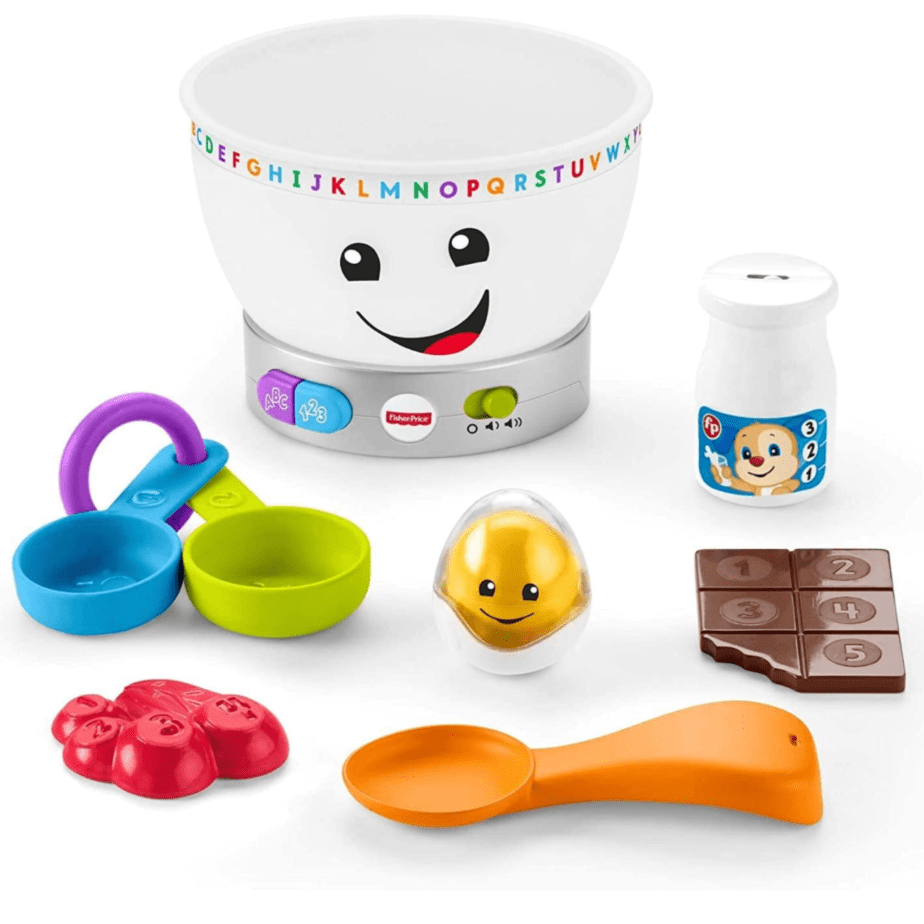 Fisher-Price Laugh & Learn Magic Color Mixing Bowl Toy Now .95