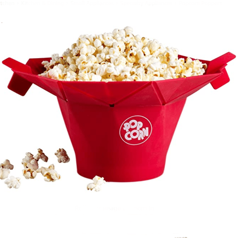 Chef'n PopTop Microwave Popcorn Popper Now .25