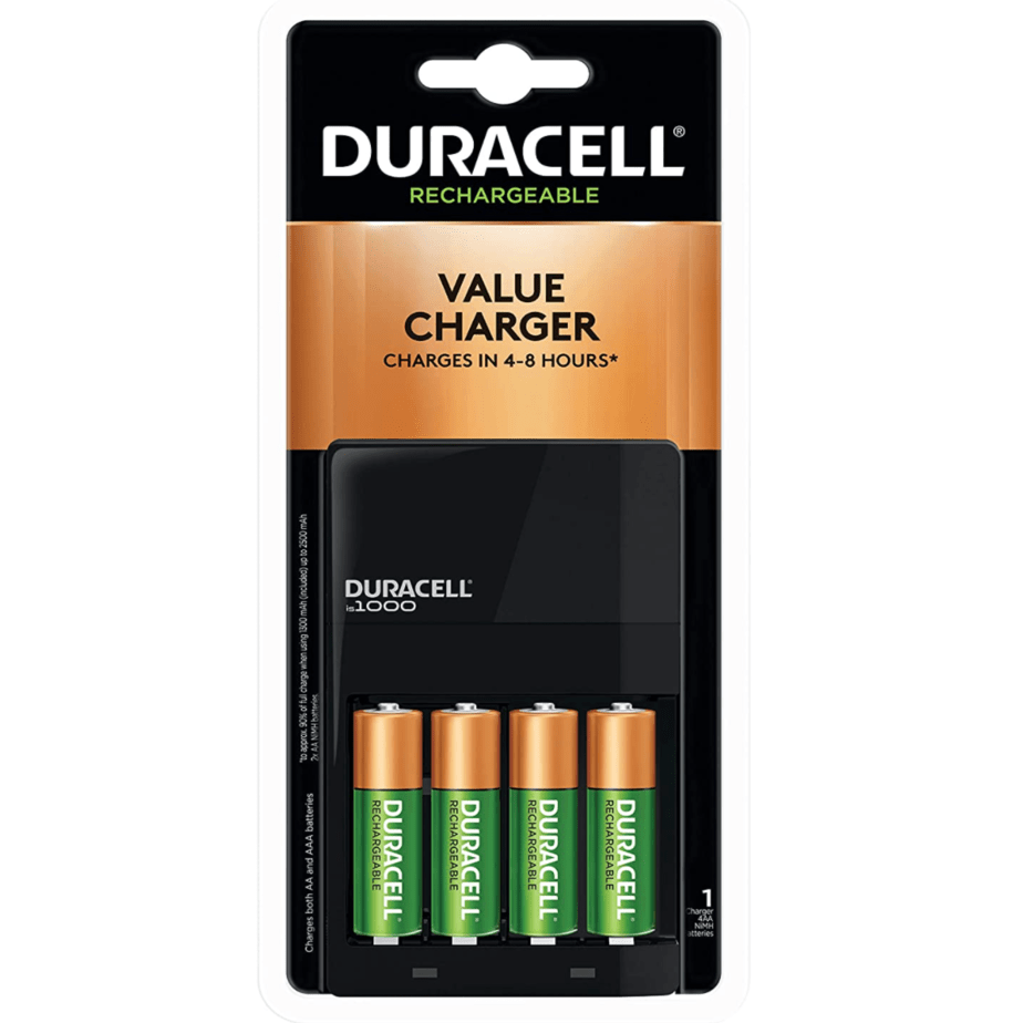 Duracell Ion Speed 1000 Battery Charger with 4 AA Batteries Now .29 (Was .80)