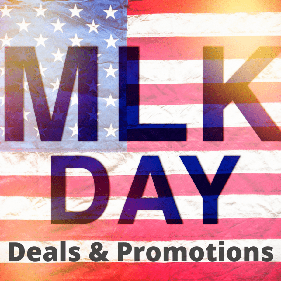 2022 Martin Luther King Jr Day Deals