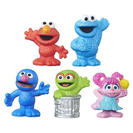 Sesame Street Playskool Collector Pack 5 Figures Now $4.89 (Was $9.99)