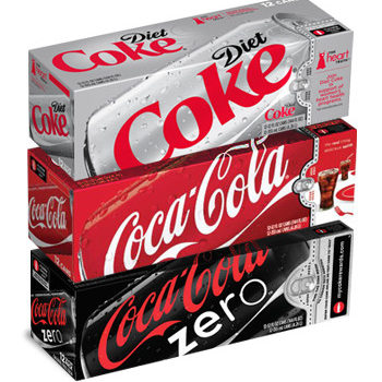 12 Packs of Soda Only .40 Each at Walgreen's