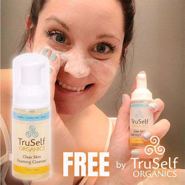 Free Bottle of Clear Skin Foaming Cleanser