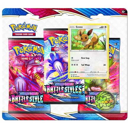 Pre-Order the Pokémon TCG: Sword & Shield—Battle Styles Three-Booster Blister