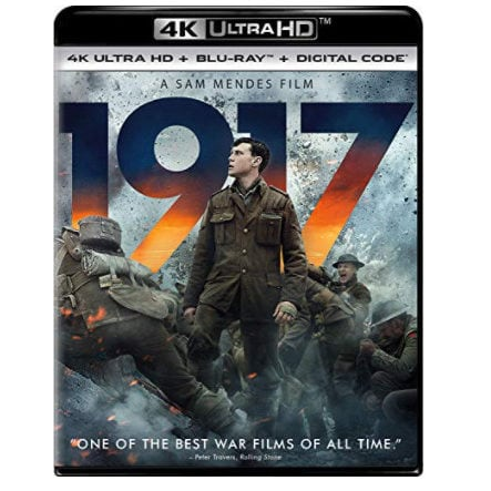 1917 Blu-ray Now .99 (Was .98)