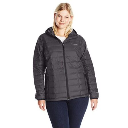 Columbia Women's TurboDown Hooded Jacket, X-Small Now $44.06 (Was $165)