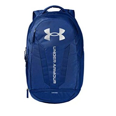 Under Armour Hustle Backpack, Royal Now $22.00 (Was $55.00)