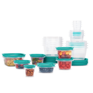 Rubbermaid, Press & Lock Easy Find Lids Teal, 42-Piece Set Now .99 (Was .99)