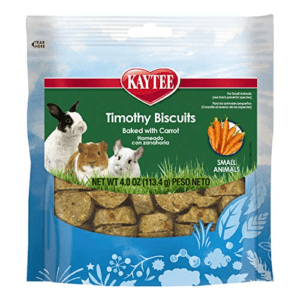 Kaytee Timothy Biscuits Baked Carrot Treat, 4-Oz Bag Now .26 (Was .99)