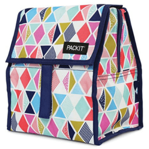 PackIt Freezable Lunch Bag with Zip Closure, Festive Gem Now .12 (Was .50)