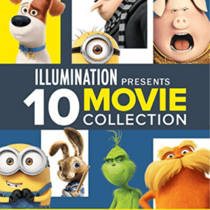 Illumination Presents: 10-Movie Collection [Blu-ray] Now .99 (Was .98)
