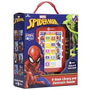Spider-man Me Reader Electronic Reader and 8 Sound Book Library Now .98 (Was .99)