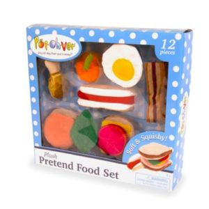 PopOhVer - Plush Food Set, Breakfast & Lunch Now .50 (Was .99)