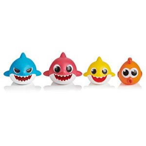 WowWee Pinkfong Baby Shark Bath Squirt Toy - 4 Pack Now .59 (Was .99)