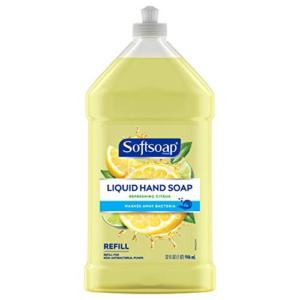 Softsoap Liquid Hand Soap Refill, 32 Fl Oz Now .88