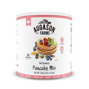 Augason Farms Buttermilk Pancake Mix 3 lbs Now .32 (Was .99)