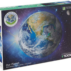 EuroGraphics Our Planet 1000-Piece Puzzle Now .51 (Was .99)