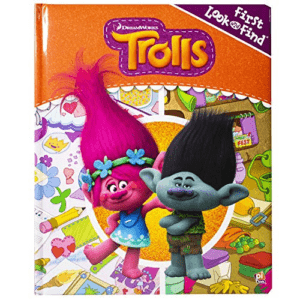 DreamWorks Trolls - First Look and Find Activity Book Now .00 (Was .99)