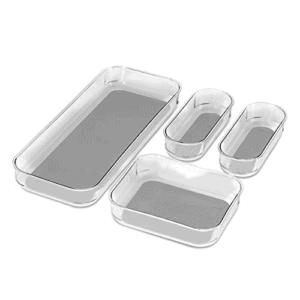 4-Piece Clear Bin Pack Now .94 (Was .99)