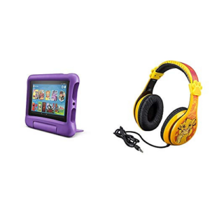 Fire 7 Kids Edition Tablet + Lion King Headphones Now .48 (Was 9.98)