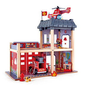 Hape Fire Station Playset Wooden Dollhouse Now .59 (Was .99)