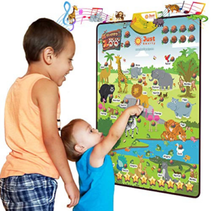 Just Smarty Happy Zoo Interactive Poster Now .99 (Was .99)
