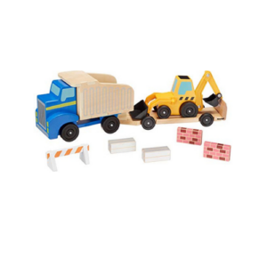 Melissa & Doug Classic Toy Dump Truck & Loader Now .25 (Was .99)