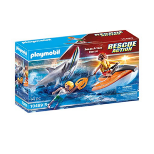 Playmobil Shark Attack and Rescue Boat Now .72 (Was .99)