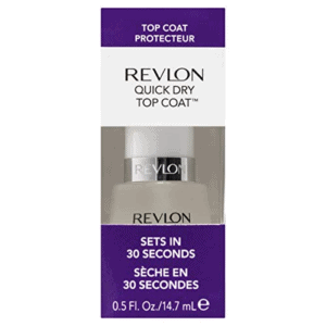 Revlon Quick Dry Top Coat for Chip Free Long Lasting Nail Polish Color, 0.5 oz Now .00 (Was .59)
