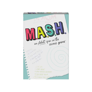 MASH, Fortune Telling Adult Party Game, for Ages 17 and up Now .85 (Was .99)