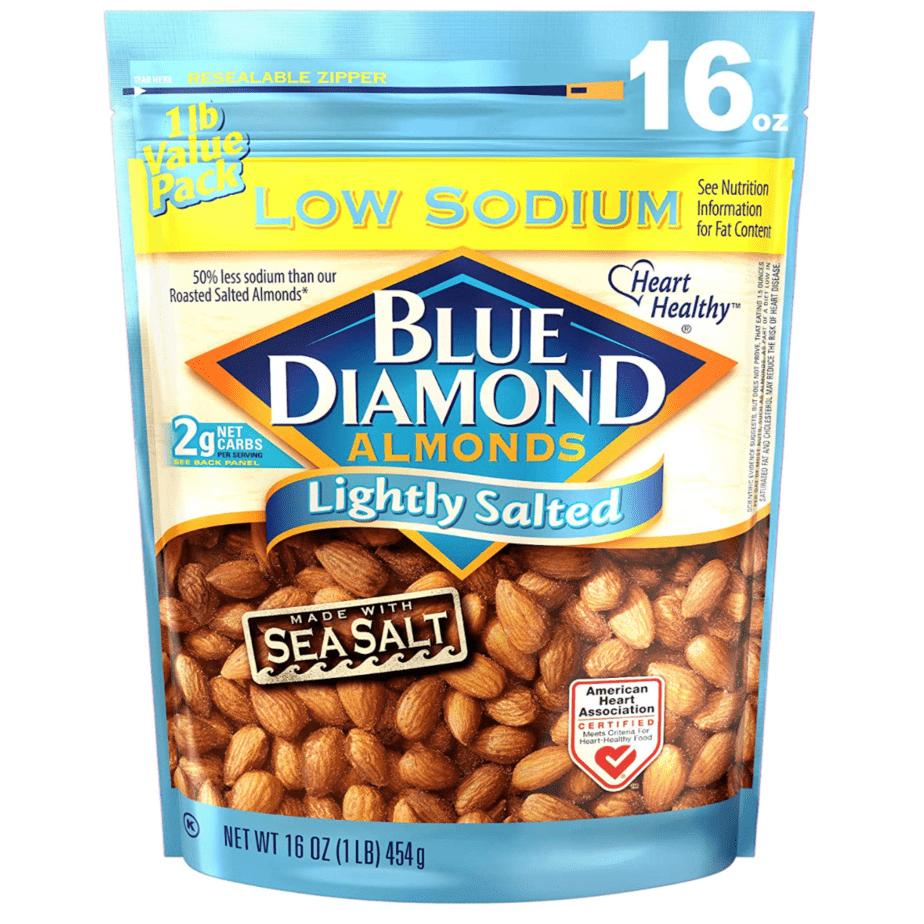 Blue Diamond Almonds 16 Ounce Now .99