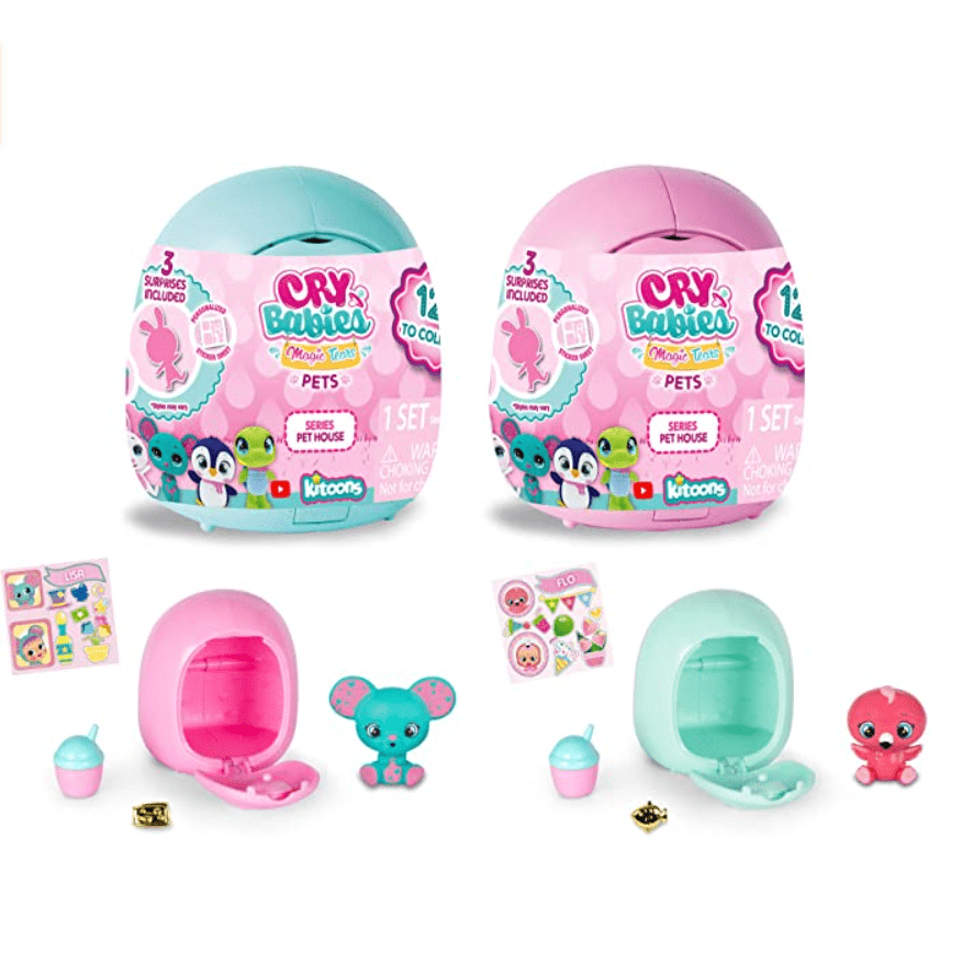 Cry Babies Magic Tears Pet House 2-Pack Now .90 (Was .99)